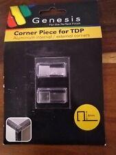 2 X GENESIS TDP  8mm (EDP)  EXTERNAL CORNERS FOR TDP SQUARE EDGE TILE TRIMS