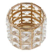 Crystal Bead Candle Holder Votive Tea Light Candelabra Dinner Table Decor #3