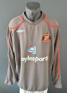 Sunderland AFC Sweatshirt Football Soccer Mens Jersey Warm Jacket Size XL 5/5