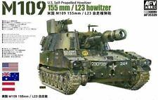 AFV Club 1/35 Scale Model Kit M109 155mm/L23 Self Propelled Howitzer RAAC