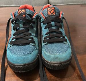 Five Ten Freerider Blue Suede mens outdoor mountain biking Shoes Size9