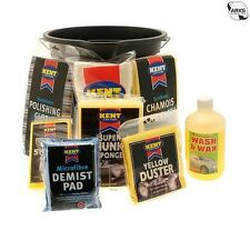 KENT Car Wash Kit With Bucket - 7 Piece Set - G666