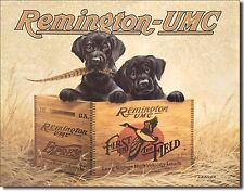REMINGTON - Finder's Keepers Tin Sign rifle shotgun handgun hunting