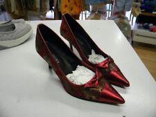 escarpin chaussures neuves femme bordeau texitle 41 talon 8cm  c19