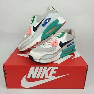Nike Womens 'Air Max 90' Watermelon Sneakers US 8, UK 7, EUR 41 Used Genuine