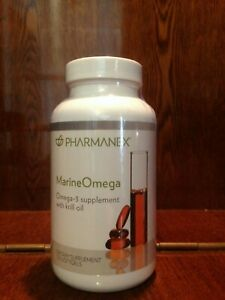 Nu Skin Pharmanex Marine Omega MarineOmega, 120 Softgel, New, Exp 11/2021