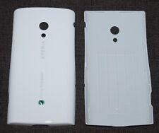 Original Sony Ericsson xperia X10i Battery Cover, White Luster