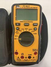 Ideal 61 337 Led 600 Volt Auto Ranging Multimeter