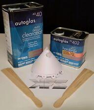 MATRIX Clearcoat  Autoglass AG40 Clear KIT w/ Hardener 5L + 2.5L- 7.5L SPRAYABLE
