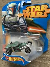 Hot Wheels Star Wars BOBA FETT Car Mattel Disney For Ages 3 +