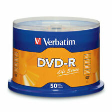 Verbatim Life Series DVD-R Disc Spindle, Pack Of 50