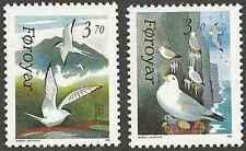 Timbre Oiseaux Féroé 213/4 ** lot 13540