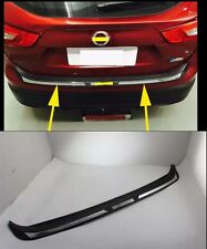 Rear Bumper Protector Sill plate Trim for 2014-2016 Nissan Qashqai abs