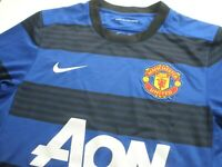 Nike Manchester United Small Dri-Fit Jersey AON Blue Striped