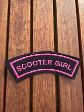 Scooter Girl Patches arm flash