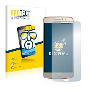 Motorola Moto E4 Plus, 2x  BROTECT® HD-Clear Screen Protector glass