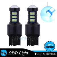 2x T20 7743 LED Daytime Running Light Bulb For Vauxhall Insignia CORSA D ASTRA J