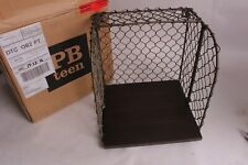 NIB PB Pottery Barn Teen Industrial Metal shelving cube shelf