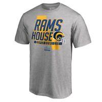 Los Angeles Rams Pro Line Super Bowl LIII Bound Hometown Slogan Short Sleeve MED
