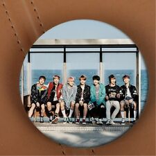 BTS WINGS YOU NEVER WALK ALONE BANGTAN BOYS V SUGA JIN KPOP Badge Button Pin 1pc