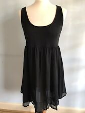 Mais Il Est Ou Le Soleil Black Dress, Size Medium 12 / 14, Excellent Condition