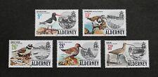 ALDERNEY - 1984 SCARCE BIRDS & BAY SET MNH RR