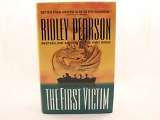 VERY GOOD!! The First Victim by Ridley Pearson