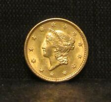 1851 Gold $1 Dollar Liberty Head BU