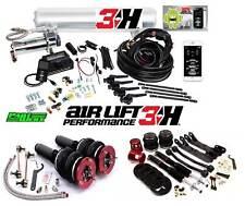 BMW 3 Series E90 E91 E92 E93 Air Lift 3H 3/8″ Management + Performance Bags Kit