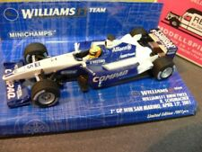 1/43 Minichamps Williams F1 BMW FW23 R. Schumacher 1. GP-Sieg 2001 400010025