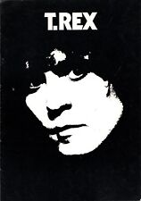 T-REX / MARK BOLAN 1977 DANDY IN THE UNDERWORLD TOUR PROGRAM BOOK / THE DAMNED