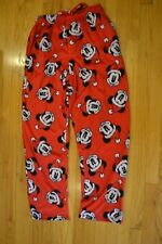 Disney's Santa Mickey Mouse Christmas Holiday Pajamas Pants Men's Size Large NWT