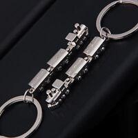 Car Metal Keychain Men Women Key Chain Party Gift jewelry Small train Bag Charm