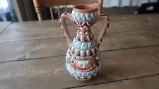 Vintage Ikaros Rhodes Greece Vase 7.75 x 4.5 inches