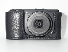 CUSTODIA IN PELLE FOTOCAMERA RICOH GR GR II GRII GENUINE LEATHER HALF CASE GC-6