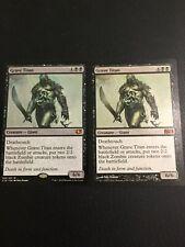 Grave Titan x2, M12, Commander 2014, NM MTG