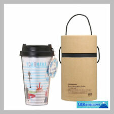 F/S New Starbucks Plastic Tumbler YOKOHAMA area city limited JAPAN sea surfing