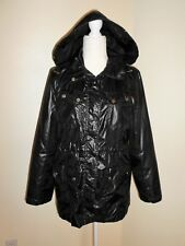 Style&co Hooded Windbreaker Size S Black