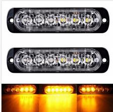 12/24V LED Voiture Camion Lumière Flash Stroboscopique Clignotant Lampe Urgence