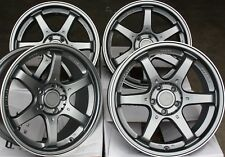 "ALLOY WHEELS X 4 15"" GM MS006 FITS AUDI 80 90 100 FORD MAZDA 121 2 VOLVO 4x108"