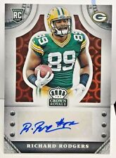 Richard Rodgers 2014 Panini Crown Royale BRONZE PYRAMID RC Auto #d 61/75 PACKERS