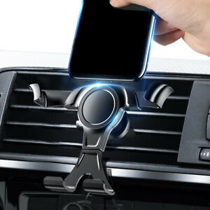 Gravity Phone Holder Air Vent Outlet Clamp Stand Bracket Car Mount Accessories