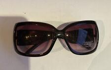 Esprit Sunglasses Black Square Fashion Plastic, Gradient Lens ET19280 115 mm