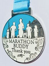 ' Marathon Buddy ' Medal - to say thank you to your training buddy