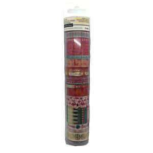 Recollections Washi Crafting Tape Set15 Pcs. Flamingo Llama Pineapples Polka Dot
