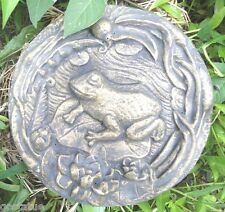 """Frog stepping stone mold 11/"""" x 9/"""" x 1/"""""""