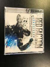 Red Faction Armageddon Original Soundtrack 2011 Sealed New Cracked Case
