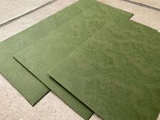 GUCCI 3x Briefumschlag Briefkuvert grün Kuvert Kuverts envelope busta TOP GG x