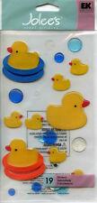 "Jolee's Boutique ""RUBBER DUCKIES"" Dimensional Scrapbooking Sticker AL-229"