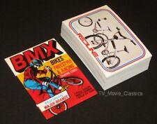 BMX © 1984 Donruss Complete 59 Card Bike Racing Set + Wax Wrapper ~ Hutch  Itson